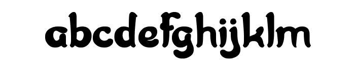 JAZZ SOUND Font LOWERCASE