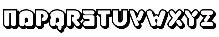 Jabbie Junior Font UPPERCASE