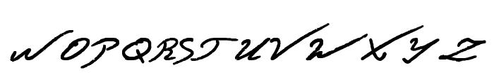 Jacek Zieba-Jasinski Bold Font UPPERCASE