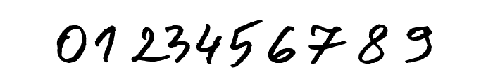 Jacek Zieba-Jasinski Italic Font OTHER CHARS