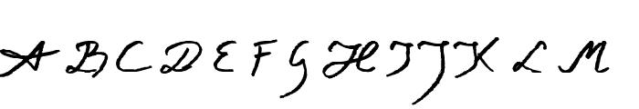 Jacek Zieba-Jasinski Italic Font UPPERCASE
