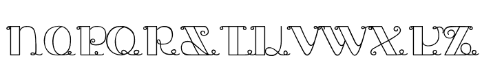 Jack and the Beanstalk Font UPPERCASE