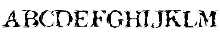 Jack the Hipper Font UPPERCASE
