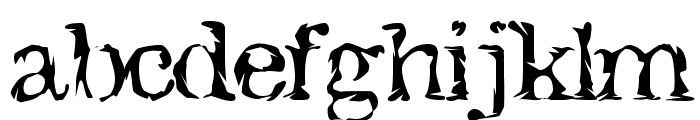 Jack the Hipper Font LOWERCASE