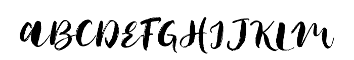 JackFrostDemo Font UPPERCASE