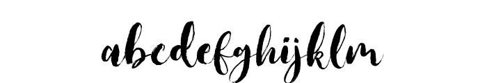 JackFrostDemo Font LOWERCASE
