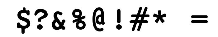 JackInput Font OTHER CHARS