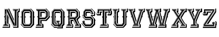 JackRunnerFree Font UPPERCASE