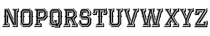 JackRunnerFree Font LOWERCASE