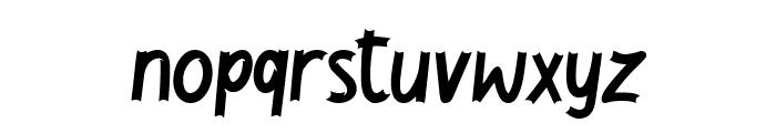 Jackal Regular Font LOWERCASE