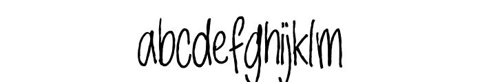 Jackdaws DEMO Regular Font LOWERCASE