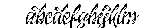 Jacked Eleven Highlight Font LOWERCASE