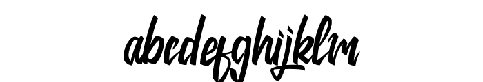 Jackie Font LOWERCASE