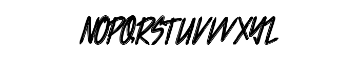 Jacklyen Font LOWERCASE
