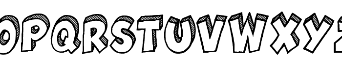 Jackpot Demo Font UPPERCASE