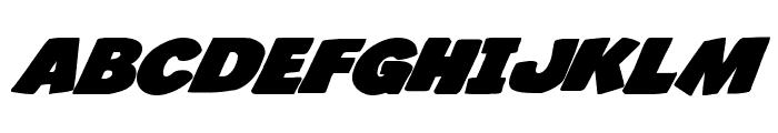Jack's Candlestick Bold Expanded Font UPPERCASE