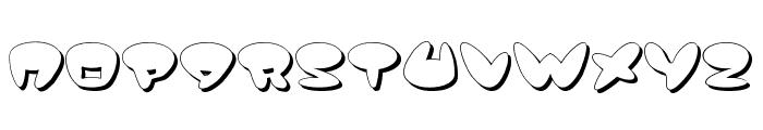 Jackson Shadow Font UPPERCASE