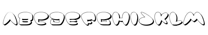 Jackson Shadow Font LOWERCASE