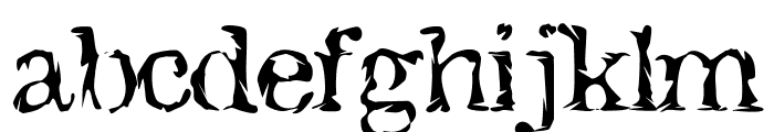 JacktheHipper Font LOWERCASE