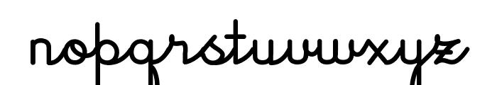 JacobCursive Font LOWERCASE