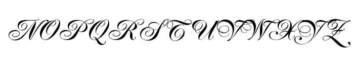 Jacoba Bold Font UPPERCASE