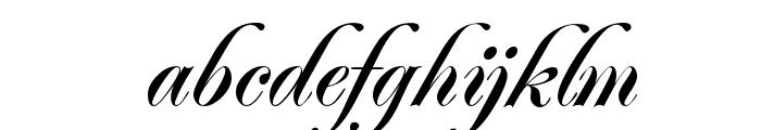 Jacoba Bold Font LOWERCASE
