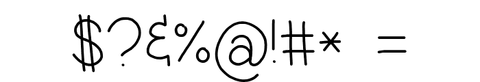 Jacquelyn'sHand-Medium Font OTHER CHARS