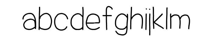 Jacquelyn'sHand-Medium Font LOWERCASE