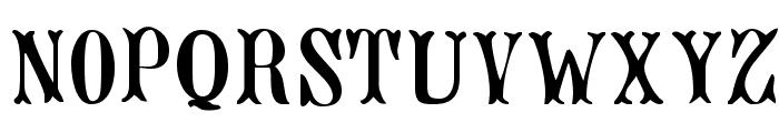Jacques Regular Font UPPERCASE