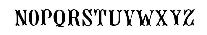 Jacques Regular Font LOWERCASE