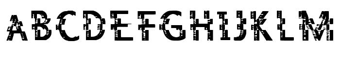 Jaez Regular Font UPPERCASE