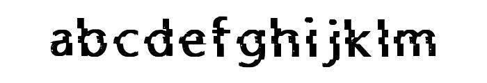Jaez Regular Font LOWERCASE