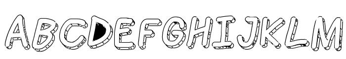 Jag Alskar Dig Isstorm Oblique Font UPPERCASE