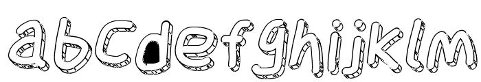 Jag Alskar Dig Isstorm Oblique Font LOWERCASE