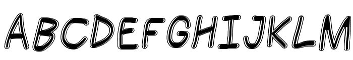 Jag Alskar Dig kan inte se Oblique Font UPPERCASE