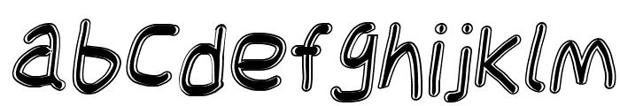 Jag Alskar Dig kan inte se Oblique Font LOWERCASE