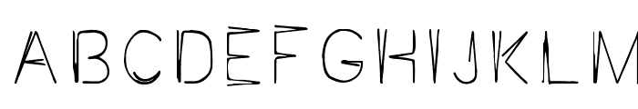 JaggaPoint Font LOWERCASE