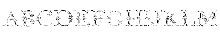 Jaggard Two Font UPPERCASE