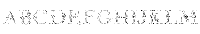 JaggardTwo Font UPPERCASE