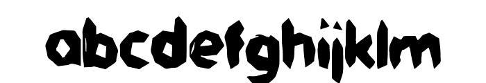 Jaggersaurus Font LOWERCASE