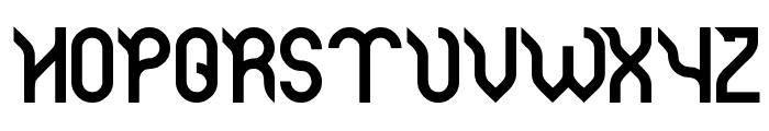 Jaguar Font UPPERCASE