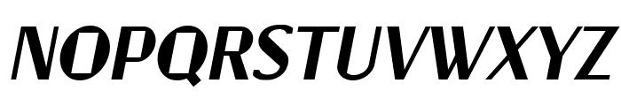 Jagz Italic Font UPPERCASE