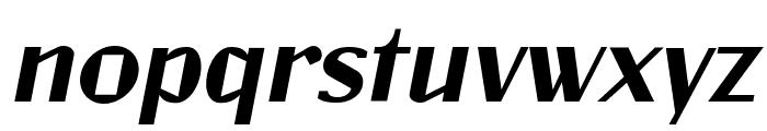 Jagz Italic Font LOWERCASE