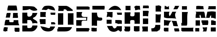 Jailbird Font UPPERCASE