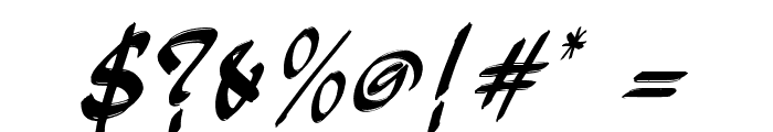 JakAs Italic Font OTHER CHARS