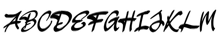 JakAs Font UPPERCASE