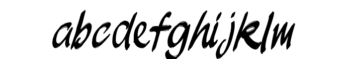 JakAs Font LOWERCASE