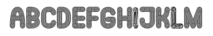 Jakob Regular Font LOWERCASE