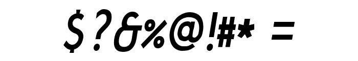 JakobItalic Font OTHER CHARS