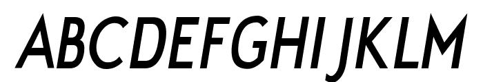 JakobItalic Font UPPERCASE